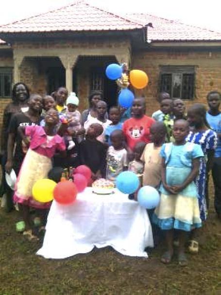 Weihnachten 2014 in Uganda